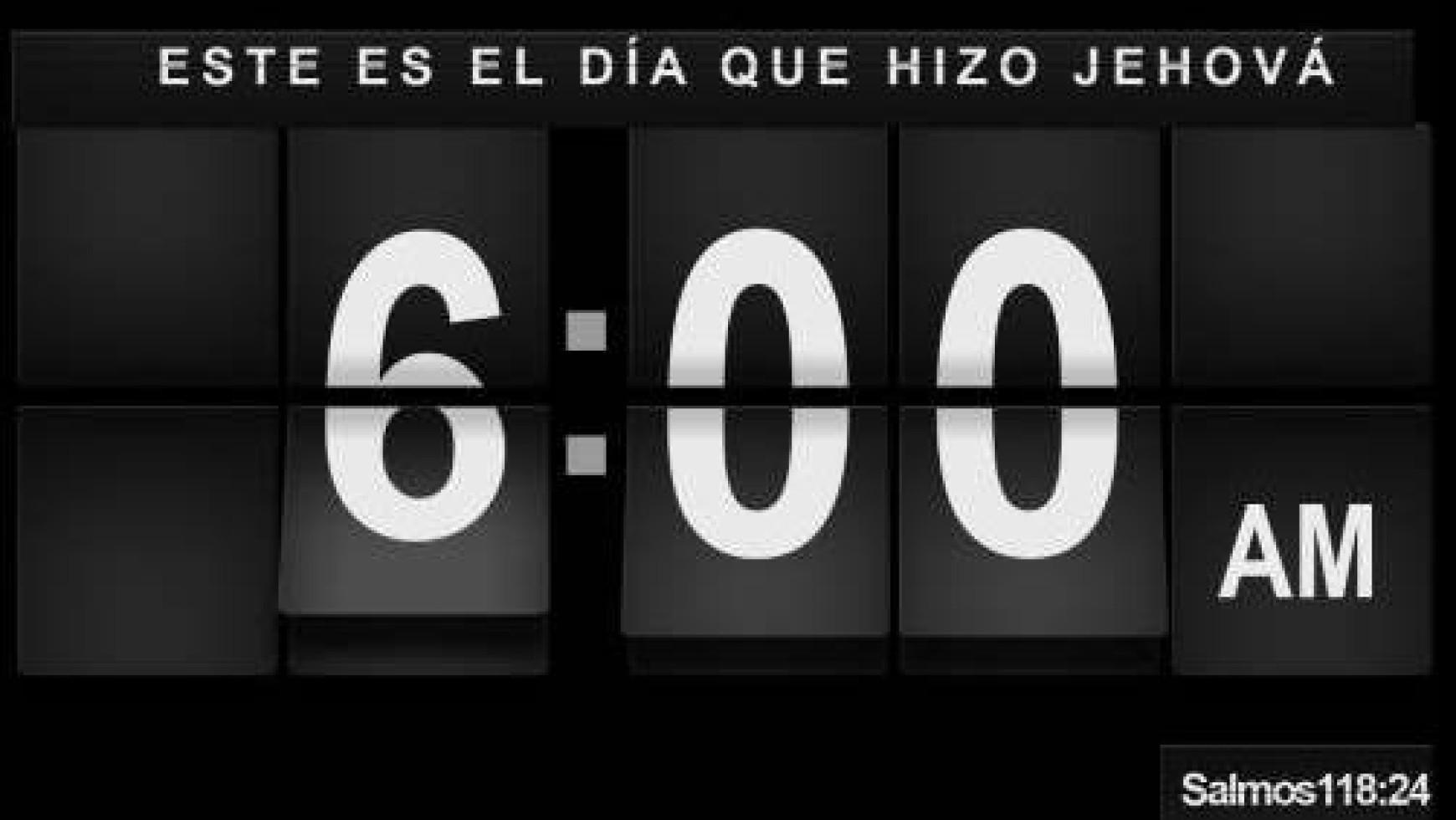 Boletin: Tiempo para lo mejor(08/07/2012)