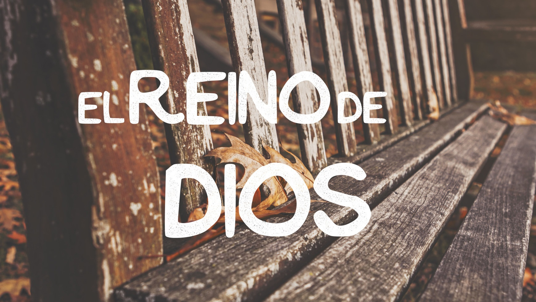 Predicacion: El Reino de Dios II (25/01/2015)