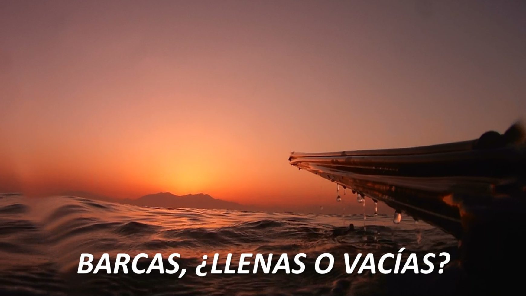 Barcas, ¿Llenas o Vacías?