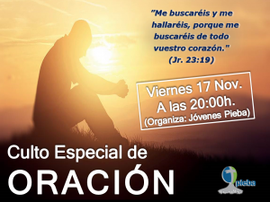 Culto especial de oración